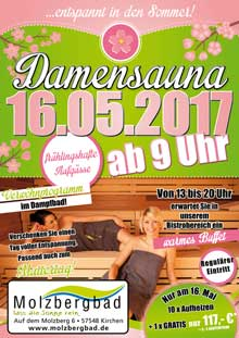 Damensauna am 16.05.2017